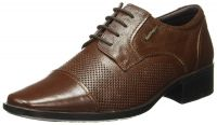 (Size 10) Hush Puppies Men's Hume Leather Formal Shoes