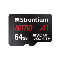 [LD] Strontium Nitro A1 64GB Micro SDXC Memory Card 100MB/s A1 UHS-I U3 Class 10 with High Speed Adapter