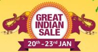 Amazon Great Indian Sale 20th - 23rd Jan
