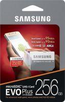 Samsung EVO Plus Micro SDXC Memory Card 256GB 95MB s