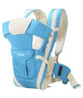 LuvLap Elegant Baby Carrier (Light Blue)