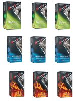 Kama Sutra Condoms (Superthin - 12 Count, Wetnwild - 12 Count, Intensity - 12 Count)