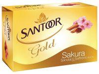 [Pantry] Santoor Gold Soap, 75g