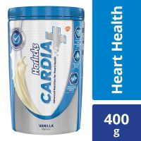 Horlicks Cardia Plus Health and Nutrition Drink Pet Jar - 400 g (Vanilla Flavor)