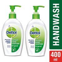 Dettol Original Instant Hand Sanitizer - 200 ml (Pack of 2)