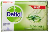 [Pantry] Dettol Bathing Bar Soap - 100 g (Aloe)