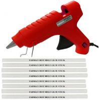 FADMAN Bond red 40 Watt On Off Switch With 8 Transparent Sticks Standard Temperature Corded Glue Gun (11 mm) Standard Temperature Corded Glue Gun  (11 mm)