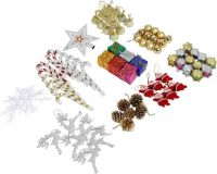 SkyAsia MPP3 Hanging Ornaments Pack of 76