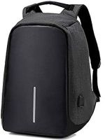 Pikyo ANT9 Fabric Anti-Theft Water Resistant Bag with Computer USB Charging Port Lightweight Laptop Backpack (Assorted Colour)