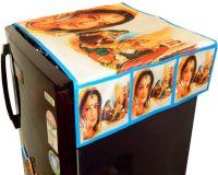 LooMantha Refrigerator  Cover(MUlticolor)