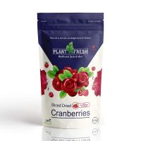 Plant Fresh Sliced Dried Cranberries, Raspberry, 120g