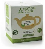 Teamonk Global Green Tea(10 Bags, Box)