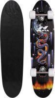 Nivia sk-801-j 6 inch x 24 inch Skateboard(Black, Pack of 1)