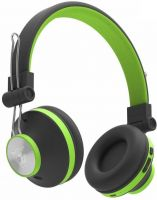 Ant Audio Treble H82 On-ear Bluetooth Headset with Mic(Black Green, On the Ear)
