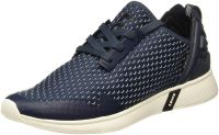 [Size: 9] Levi's Men's Black Tab Runner Dark Blue Sneakers-9 UK/India (43 EU) (38112-0052)