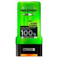 L'Oreal Paris Men Expert Clean Power Shower Gel, Citrus Wood, 300ml