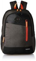 Gear 30 Ltrs Grey and Orange Casual Backpack (BKPDUAL000406)