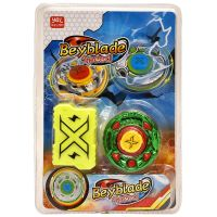 Toyzrin Metal Fusion 4D Spinning Top Beyblade, Multicolor