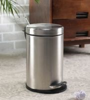 Steel One 5 L Stainless Steel Pedal Dustbin With Inner Plastic Bucket