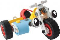 TurboZ Build N Play Motorcycle (71 part  (Multicolor)