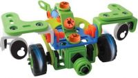TurboZ Build N Play Vehicle Set(Multicolor)