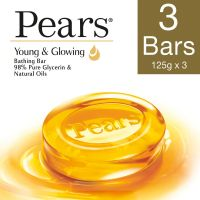 [Pantry] Pears Pure and Gentle Soap Bar, 125g (Pack of 3)