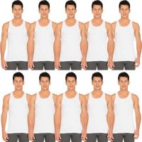 Jockey Men Vest  (Pack of 10)
