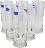 Ocean Sweet Bell Glass Set, 345ml, Set of 6, Clear