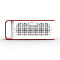 Portronics POR-777 SoundGrip Rechargeable Portable Bluetooth Wireless Stereo Speaker (Red)
