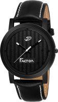 Factor FR-G574-BKBK-PURE Premium Pure Black Super Slim Collection Analog Watch  - For Men