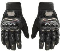 Probiker Gloves Shockproof Foam Padded Outdoor Riding Full Finger Glove For Men Riding Gloves(Black)