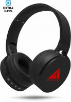 Boult Audio ProBass Q Bluetooth Headset with Mic(Black, Over the Ear)