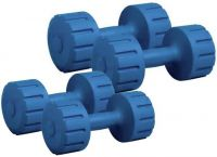 KRX PVC Set Combo 161 Fixed Weight Dumbbell  (6 kg)