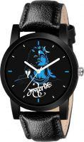 Sponix Martmahadev-print-dial-black-leather-belt-watch-for-men-boys-girls-original Analog Watch  - For Men