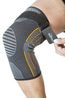 Snipro Knee Cap Support Sleeve with Adjustable Strap (Medium)