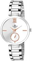 Swisso Royal Collection White-Rosegold Dial Analogue Watch