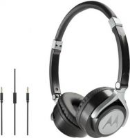 Motorola Pulse 2 Wired Headset with Mic(Black, Over the Ear)