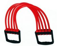 Strauss Rubber Adjustable Chest Expander Resistance Tube(Red)