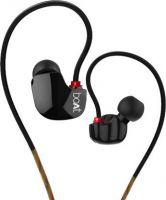 boAt Nirvanaa Uno Wired Headset with Mic  (Black, In the Ear)