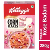 [Pantry] Kellogg's Cornflakes Real Rose Badaam Pouch, 280g
