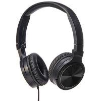 [Live @ 6.59AM] AmazonBasics Lightweight On-Ear Headphones - Black