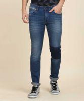 [Size 32, 34, 36] WranglerSlim Men Blue Jeans