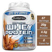 Muscletech Premium 100% Whey Protein Plus - 2.27 kg (Triple Chocolate)
