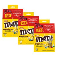 M&M's Peanut Chocolate Candies, Movie Promo Pack - 100 g (Pack of 3)