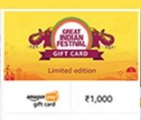 [Select User] Gift Rs. 1000 Get Extra Rs. 1000 Shopping Offers
