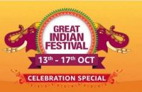 Amazon Great Indian Festival Sale Oct 13th - 17th