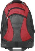 Giordano 15 inch Laptop Strolley Bag  (Red, Black)