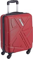 Safari Polycarbonate 51 Ltrs Red Hardsided Carry On (TRAFFIK Anti-Scratch 4W 55 RED)