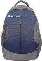 Dussle Dorf 2318 22L Laptop Backpack (Navy Blue and Gray)