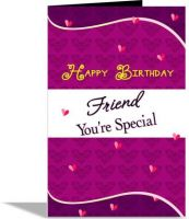 alwaysgift Friend You're Special Greeting Card Greeting Card  (Multicolor, Pack of 1)